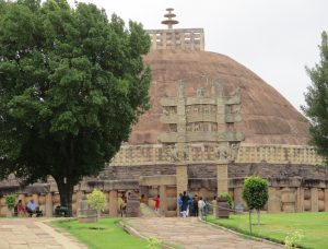 Stupa at Sanchi, Buddhist Circuit, India
