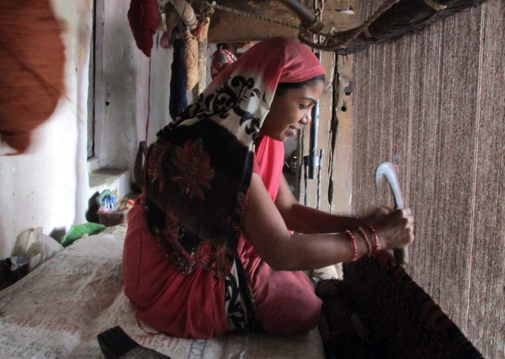 Weaving--Buddhist Circuit India